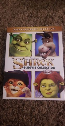 Shrek All 4 movies collection for Sale in El Paso,  TX