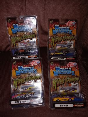 MUSCLE MACHINES CARS TOYS COLLECTIBLES for Sale in Carmichael, CA