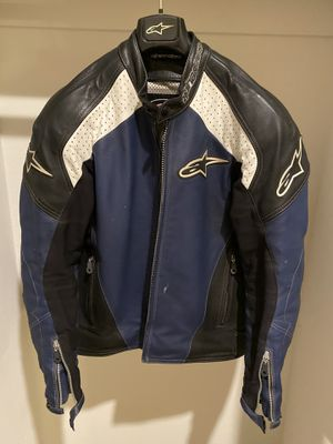 Great condition Alpinestar motorcycle leather jacket for Sale in Corona, CA