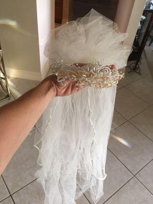 Bridal wedding headpiece for Sale in Boca Raton, FL