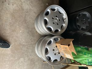 15inch Mercedes rims for sell for Sale in Highland, CA