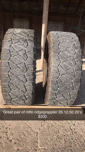 Nitto RidgeGrappler {link removed} for Sale in Bloomfield, IA
