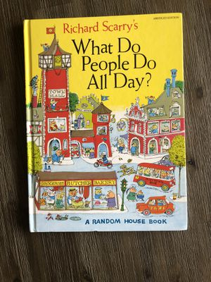 Richard Scarry What do people do all day for Sale in Redmond, WA