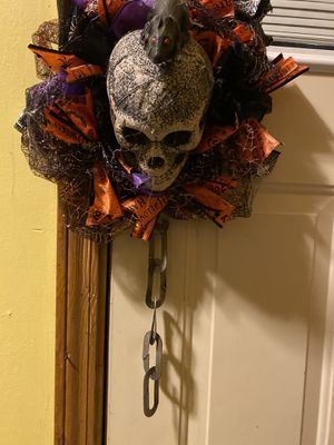 Handmade Halloween Wreath for Sale in Downers Grove, IL