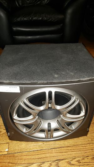 Car subwoofer for Sale in UNIVERSITY PA, MD