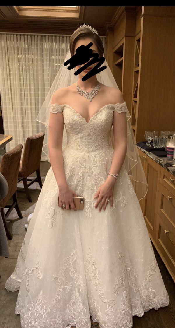 Wedding dress size 12