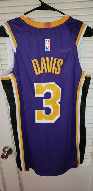 Men's Small Anthony Davis Los Angeles Lakers Jersey New with Tags Stiched Nike $40. Ships +$3. Pick up in West Covina for Sale in West Covina, CA