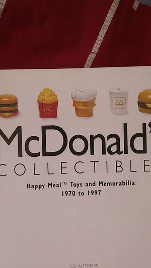 McDonald's Happy Meal collectible toys and memorabilia from 1970 to 1997 for Sale in Lake Stevens, WA