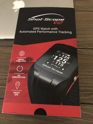Shot Scope V2 Golf Watch GPS and Tracking for Sale in Chandler, AZ