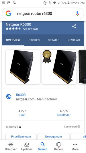Netgear router for Sale in Fresno, CA