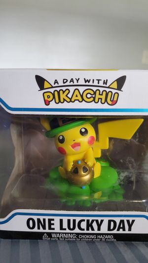 One lucky day with pikachu funko for Sale in La Puente, CA