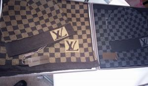 Louis Vuitton Hat And scarf for Sale in Detroit, MI