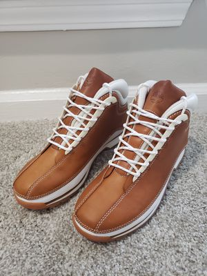 TIMBERLAND Euro Dub Active Comfort Technology Boot - Tan Leather - Mens Size 9 - 85054 for Sale in Lithonia, GA