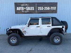 2009 Jeep Wrangler Unlimited for Sale in Edgewood, WA