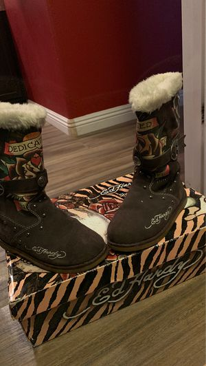 Ed Hardy boots for Sale in Las Vegas, NV