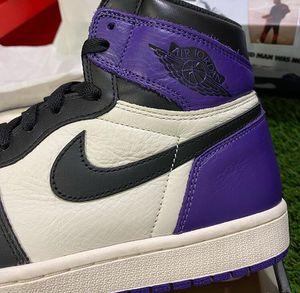 "Jordan 1 ""court purple"" for Sale in Gainesville, FL"