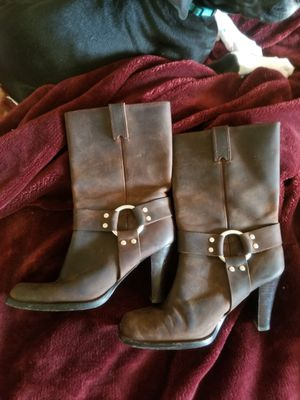 Leather boots by Michael Kors for Sale in Saint Joseph, MO