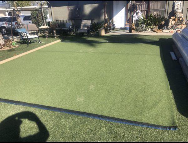 Artificial turf Puttingreen 15'x60'. $1620.00
