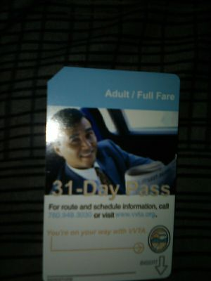 Bus pass 31 day for Sale in El Mirage, CA