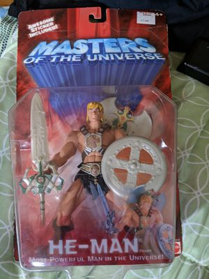He-man masters of the universe 2002 for Sale in San Jose, CA
