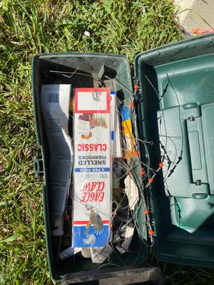 Fish tackle box for Sale in District Heights, MD