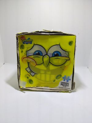 "Spongebob Squarepants Nickelodeon Lenticular Jigsaw Game Puzzle 100 pc 12""X9"" for Sale in Webster, MN"