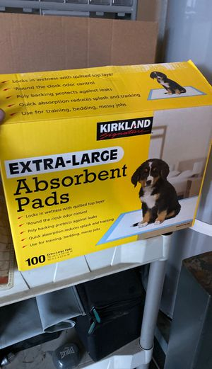 Extra large absorbent pads for Sale in Vancouver, WA