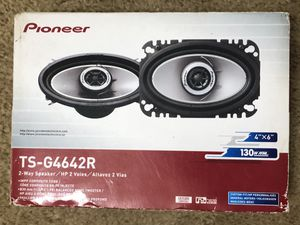 Pioneer 4x6 Speakers 130W Max NIB for Sale in Germantown, MD
