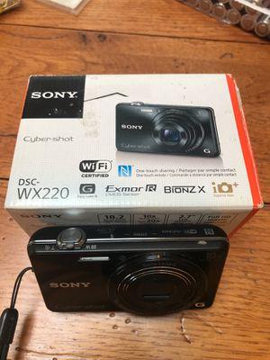 Sony Cyber-shot DSC-WX220 for Sale in North Bend, WA