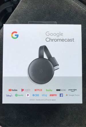 Chromecast brand new will throw In Alexa too trade for GTA for Xbox one rite now for Sale in Highland, CA