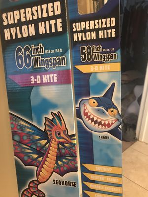 KITES- Oversized nylon kites $20 each brand new for Sale in Whittier, CA