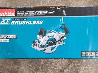 Makita 36v Brushless Rear Handle 7 1/4 Circular Saw Kit for Sale in Seattle,  WA