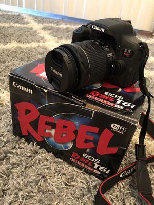 Canon Rebel T6i. Used twice. $400.00 OBO. for Sale in Sebring, FL