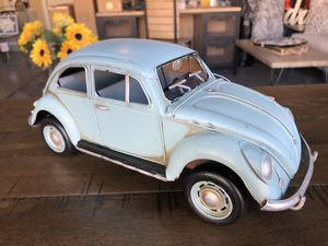 "Brand New Collectible Metal Blue VW Beetle (Dimensions: 14""x5""x5"") 🍎REGULAR PRICE $45🍎 for Sale in North Las Vegas, NV"
