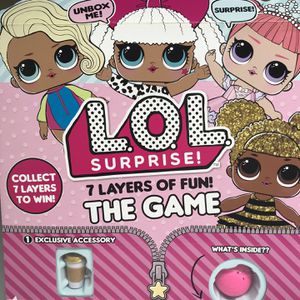 LOL SURPRISE 7 LAYERS OF FUN THE GAME for Sale in Los Angeles, CA