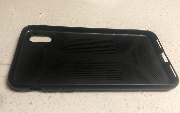iPhone X phone case Brown
