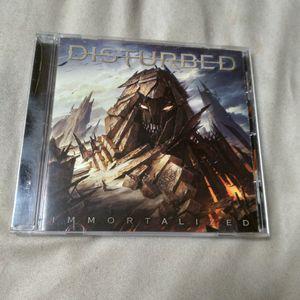 DISTURBED - IMMORTALIZED (CD ALBUM) for Sale in Phoenix, AZ