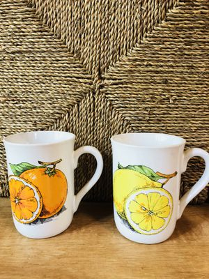Vintage Boho Fruit Kitchen Coffee Mugs for Sale in Portland, OR