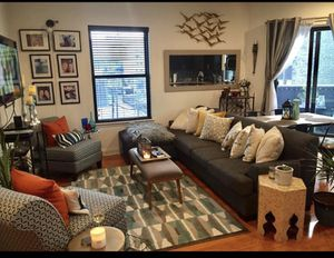 Gray tweed couch for Sale in Philadelphia, PA