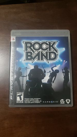 Rock Band PS3 for Sale in Pasadena, CA