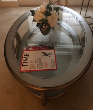 Coffee table and end table for Sale in Sterling, VA