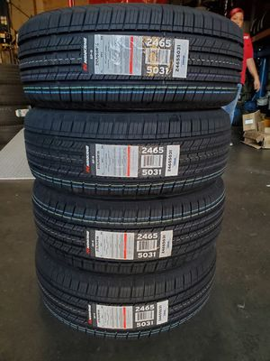 215 60 16 NEW TIRES CAMRY ALTIMA ACCORD for Sale in Colton, CA
