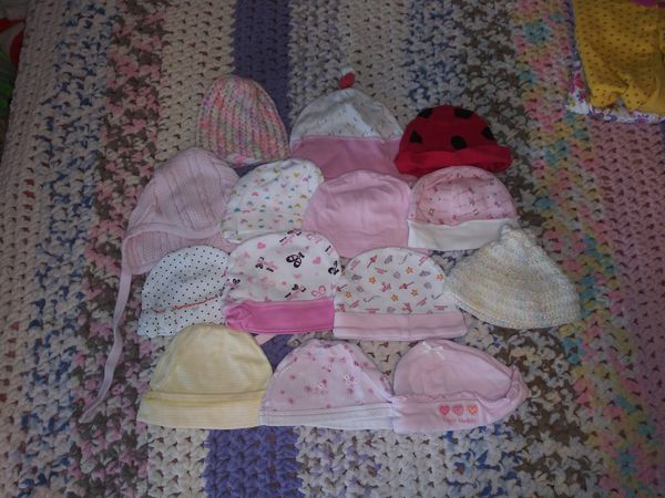 Newborn baby girl lot