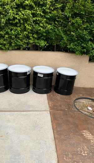 New. 20 gallons of barrel Drums for Sale in San Marcos, CA