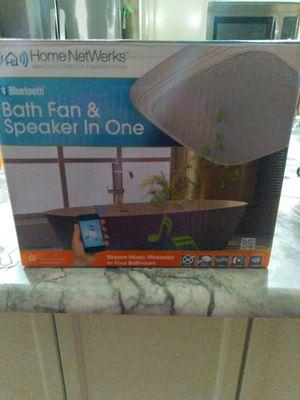 Bluetooth fan and speaker in one for Sale in Largo, FL