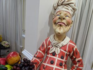 Chef statue decor for kitchen for Sale in Rockville, MD
