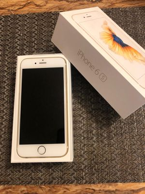 iPhone 6s 64gb unlocked Gold excellent condition for Sale in El Cajon, CA
