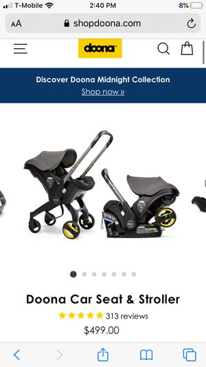 Doona car seat and stroller Negotiable for Sale in Herndon, VA