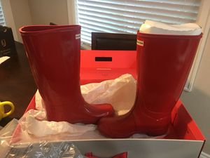 Hunter Red Boots **Price Reduced** for Sale in Mount Vernon, WA