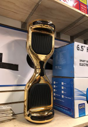 Bluetooth hoverboard 2018 speakers gold BRAND NEW for Sale in Chicago, IL